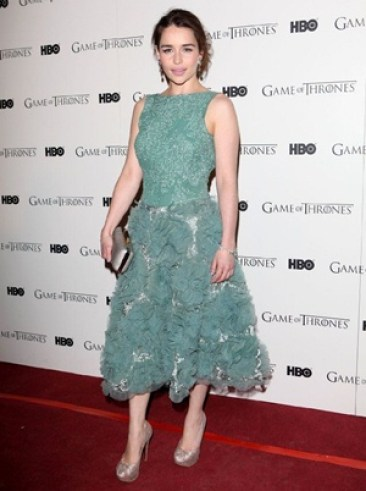 Emilia Clarke Height Body Shape