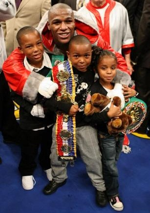 Floyd Mayweather Children 2015