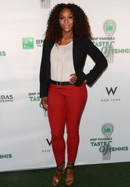 measurements Serena williams