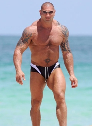 Dave Batista Body Measurements Height Weight Biceps Size ...
