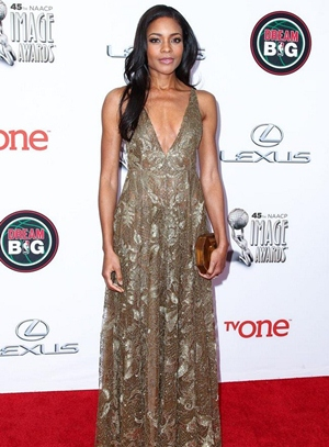 Naomie Harris Height Body Figure Shape