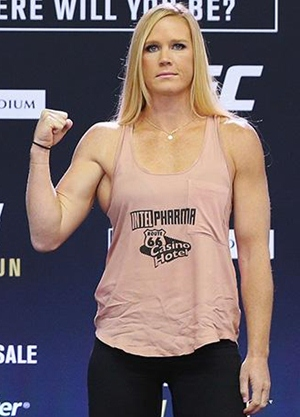 Holly Holm Height Body Figure Shape