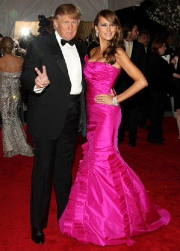 Melania Trump Body Measurements with Husband Donald