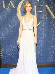 Lily James Body Measurements Height Weight Bra Size Vital Stats Bio