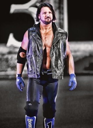 AJ Styles Height Weight Body Shape