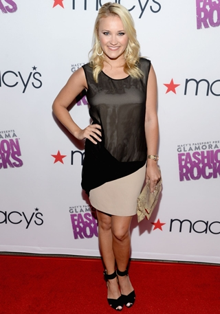 emily osment breast size