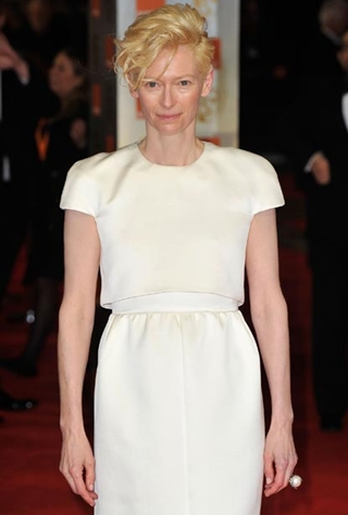 Tilda Swinton Body Measurements Bra Size