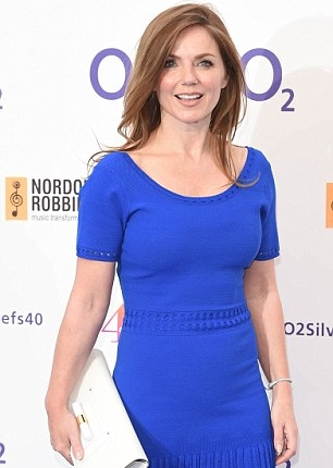 Geri Halliwell Body Measurements Bra Size