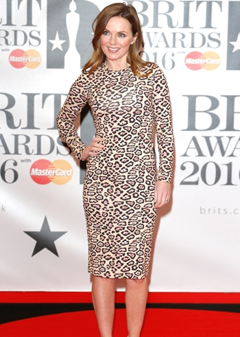 Geri Halliwell Height Weight Body Figure Shape