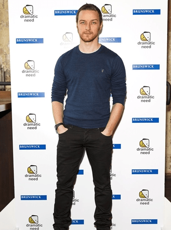 James McAvoy Body Measurements Vital Stats