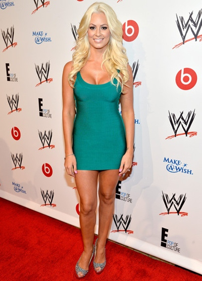 Maryse Ouellet WWE Height Weight Body Shape Legs