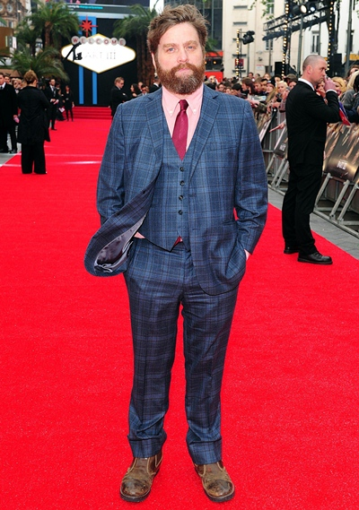 Zach Galifianakis Body Measurements Shoe Size
