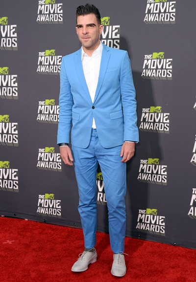 Zachary Quinto Body Measurements Shoe Size