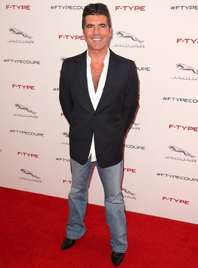 Simon Cowell Height Weight Body Shape
