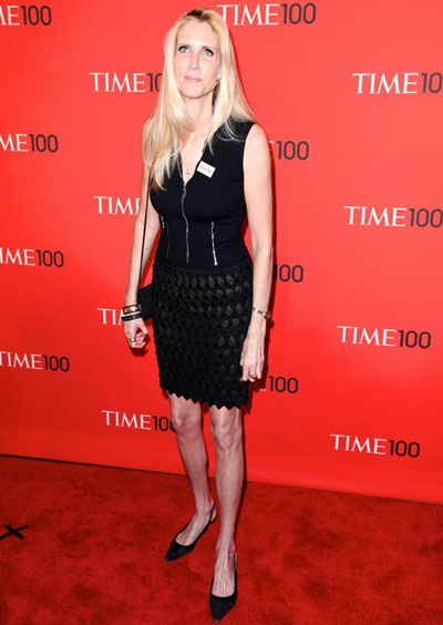Ann Coulter Height Weight Shoe Size