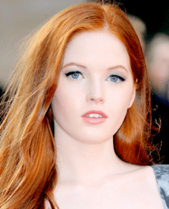 Actress Ellie Bamber