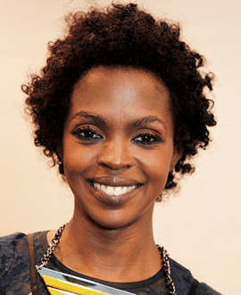 Singer Lauryn Hill
