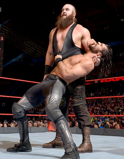Braun Strowman Height Weight Body Shape