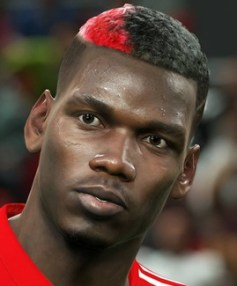 Footballer Paul Pogba