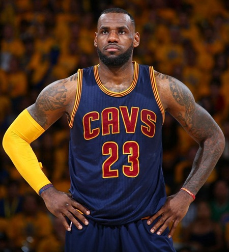 LeBron James Body Measurements Shape