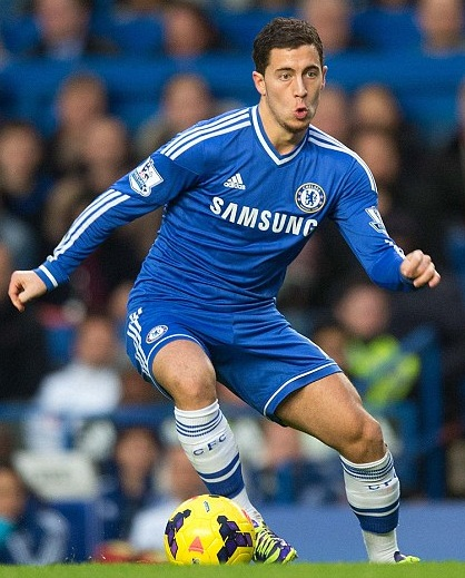 Eden Hazard Body Measurements Shoe Size