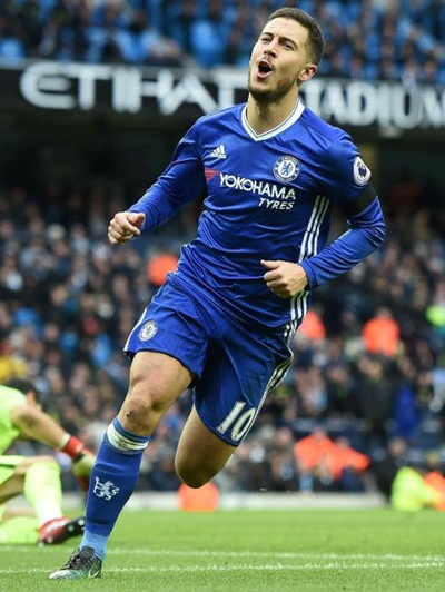 Eden Hazard Height Weight Stats