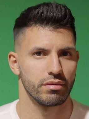 Footballer Sergio Aguero