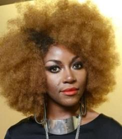 Singer Ebony Bones