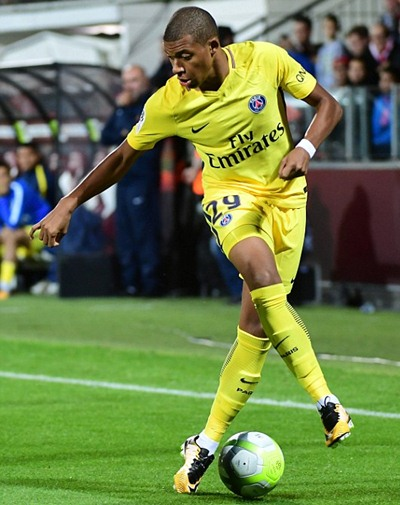 Kylian Mbappé Height Weight Stats