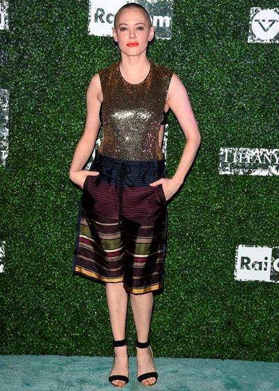 Rose McGowan Height Weight Shoe Size