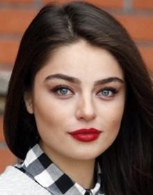Turkish Actress Ayça Ayşin Turan