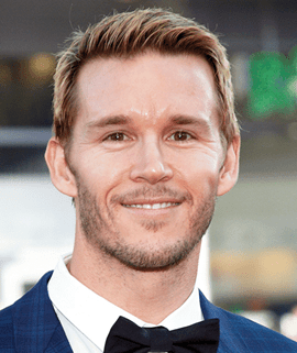 Actor Ryan Kwanten