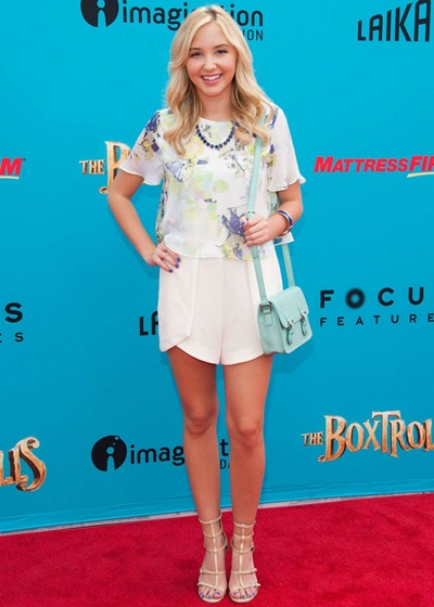 Audrey Whitby Height Weight Bra Size