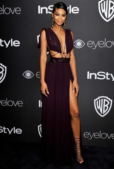 Chanel Iman Height Weight Bra Size