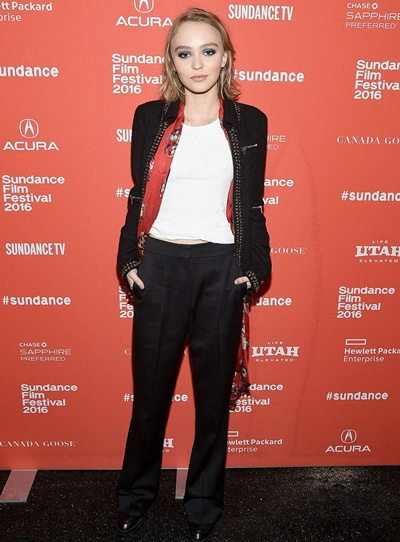 Lily-Rose Depp Body Measurements Stats
