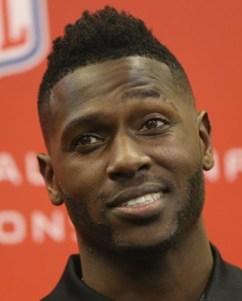 NFL Player Antonio Brown