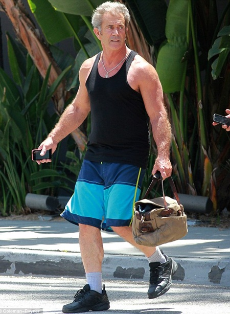 Mel Gibson Body Measurements Stats