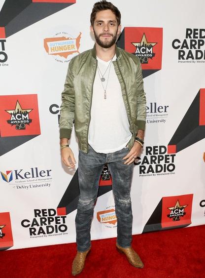 Thomas Rhett Height Weight Shoe Size