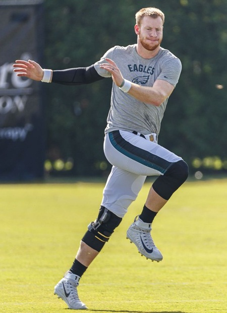 Carson Wentz Body Measurements Stats