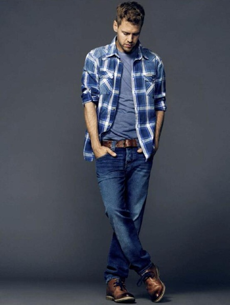 Sebastian Vettel Height Weight Shoe Size