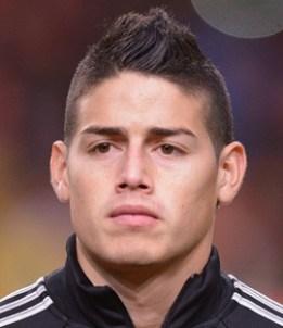 Footballer James Rodriguez