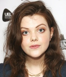 Actress Georgie Henley