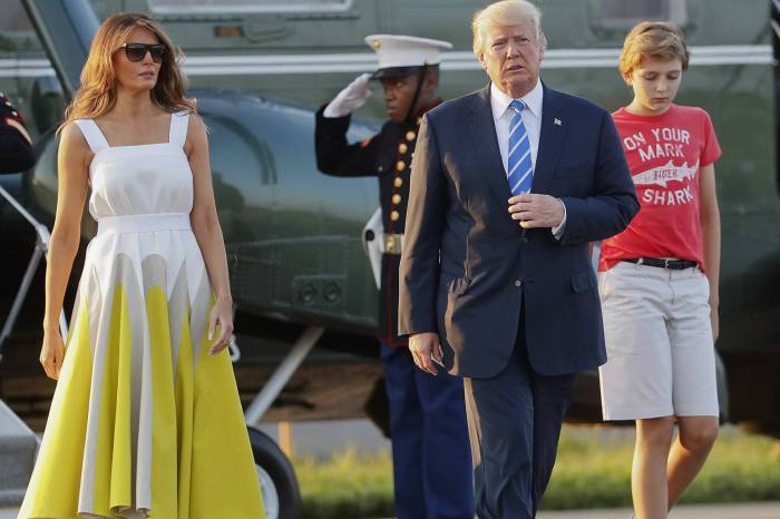Melania Trump Defends Leaving For Florida With Barron And Without The Donald -- Amid Backlash, Former Model Plans Surprising Move