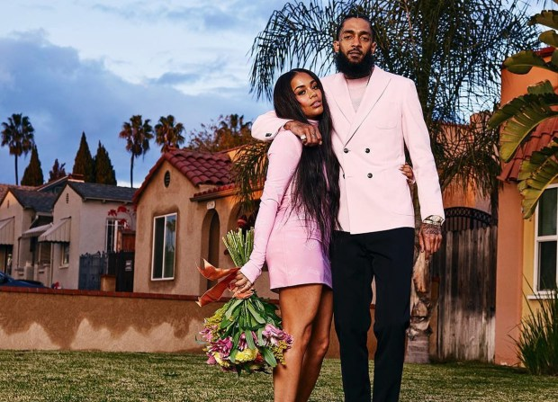 Image result for lauren london and nipsey hussle