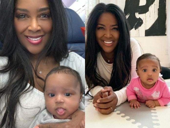 breaking daily hot news - Kenya Moore's Baby Brooklyn Gets Her Ears Pierced – Watch The Cute Video