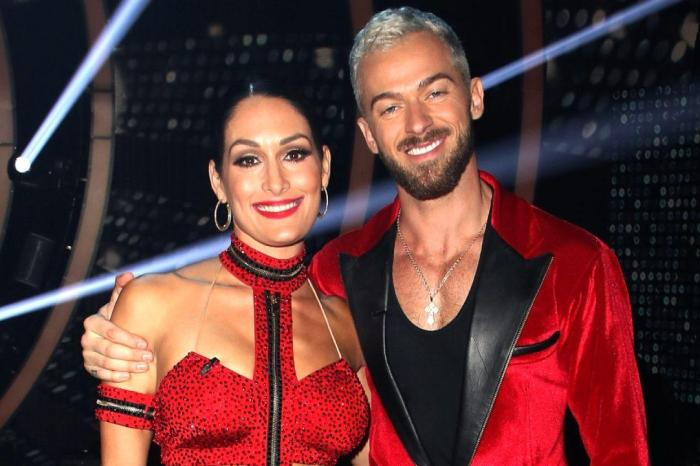 Nikki Bella Teases Artem Chigvintsev Over His Past Romance With Carrie Ann Inaba
