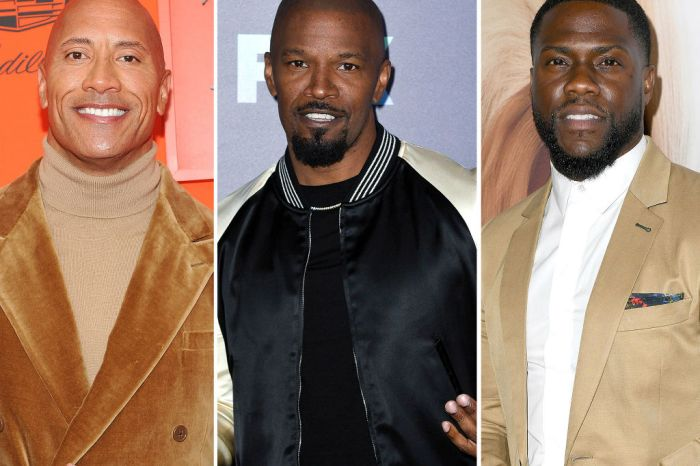 Dwayne 'The Rock' Johnson, Jamie Foxx, Tyrese Gibson And More Stars Send Kevin Hart Love After Car Crash