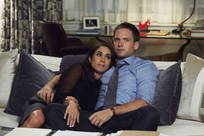 Patrick J. Adams Shares Never Before Seen Photos Of Meghan Markle From Suits Set