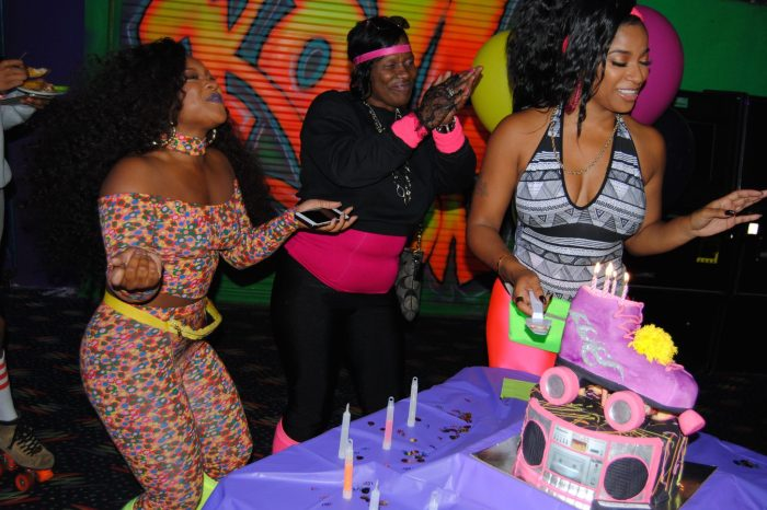 Toya Wright Looked Gorgeous In A Mini Dress For Her Birthday Date Night With Robert Rushing