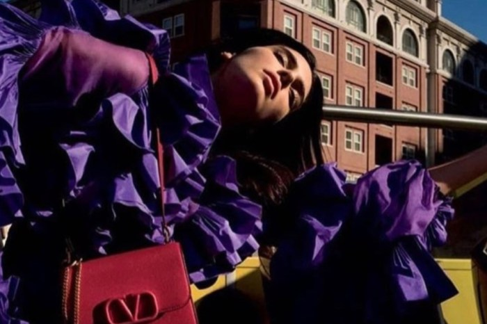 Kendall Jenner Stuns In New Valentino Campaign